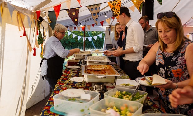 wedding article food waste